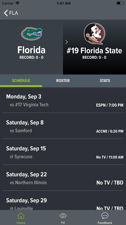 SEC Football Scores and More screenshot-4