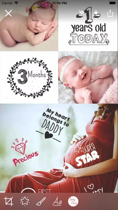 Baby Story Camera screenshot four