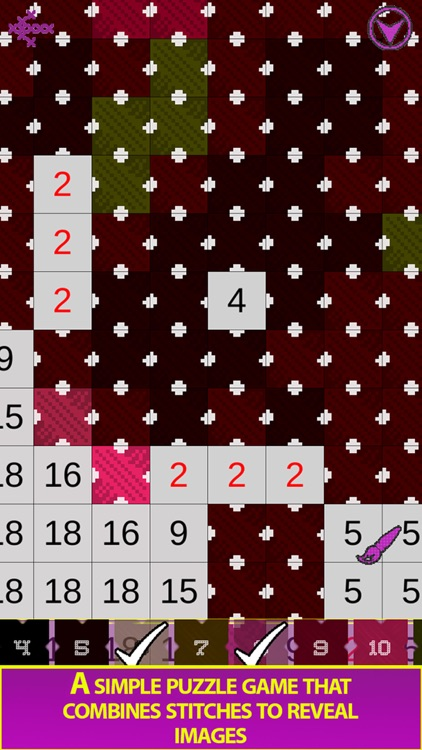 Cross Stitch - Color by Number screenshot-7