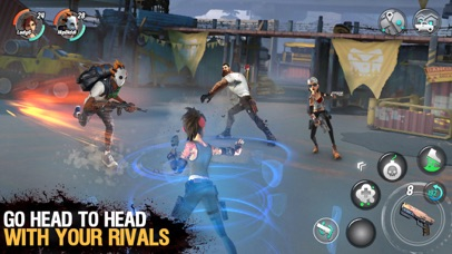 Dead Rivals - Zombie MMO screenshot 3