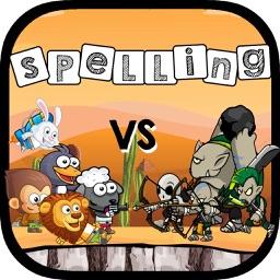 Animal vs Monster Spelling Fun