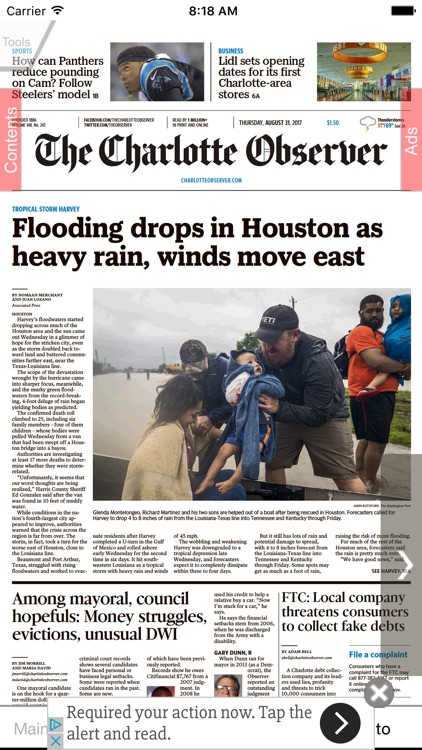 The Charlotte Observer eEdition
