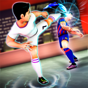 Soccer Heroes Press Room Fight