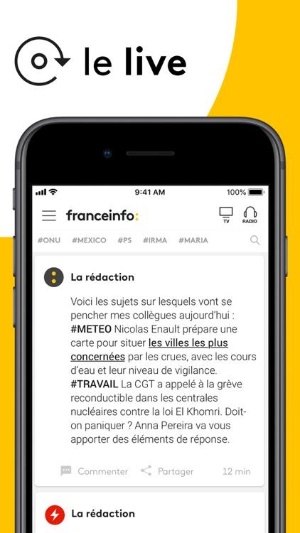 franceinfo: l'actu en continu screenshot-0