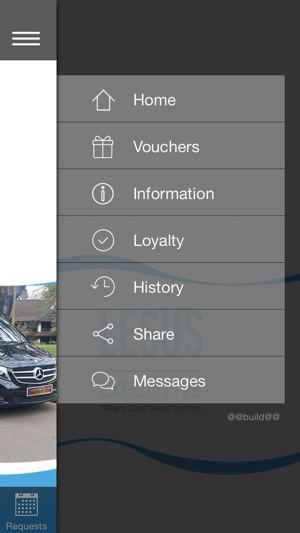 Lesus Executive Car Hire On The App Store