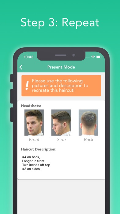 FreshCut - Better Haircuts app image