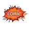 • Comic Book Stickers •