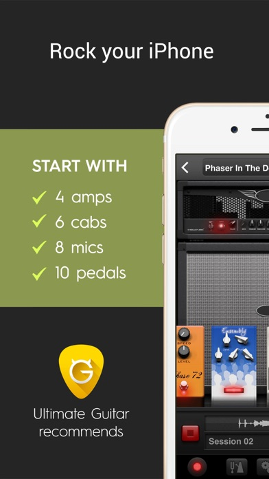 ampkit guitar amps pedals app download android apk. Black Bedroom Furniture Sets. Home Design Ideas