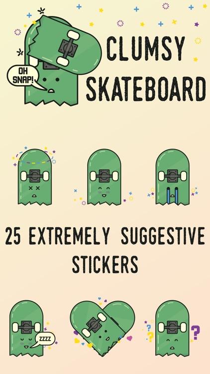 Clumsy Skateboard