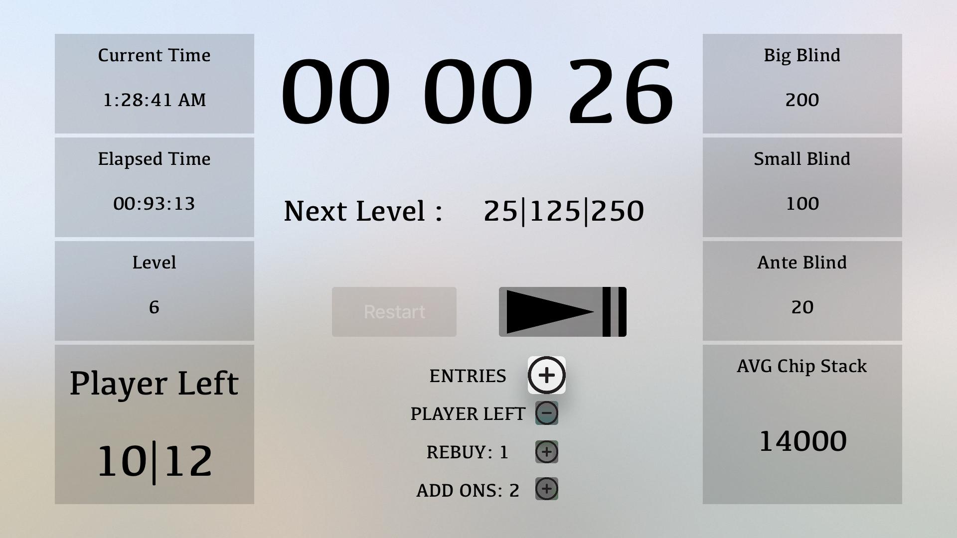 Poker Timer TV screenshot 6