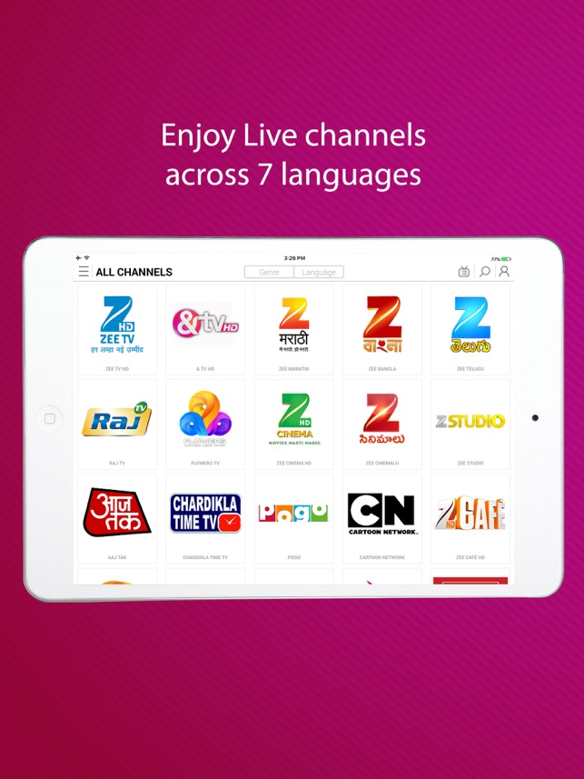 dittoTV: Live TV Shows & News on the App Store