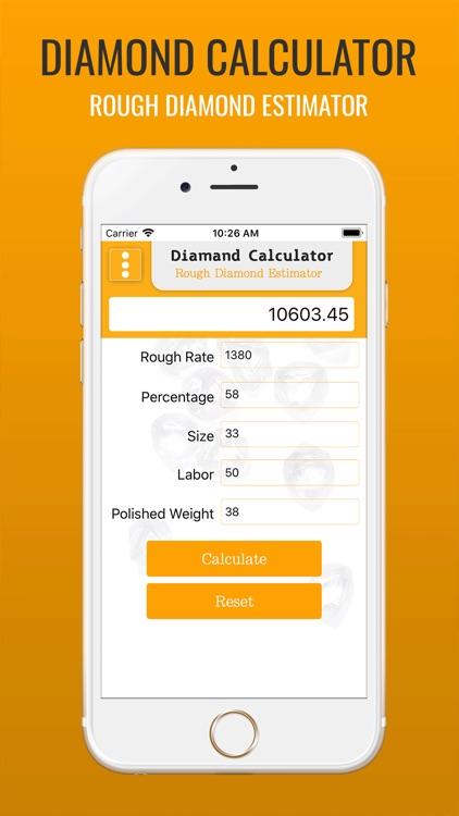 Diamond Calculator !