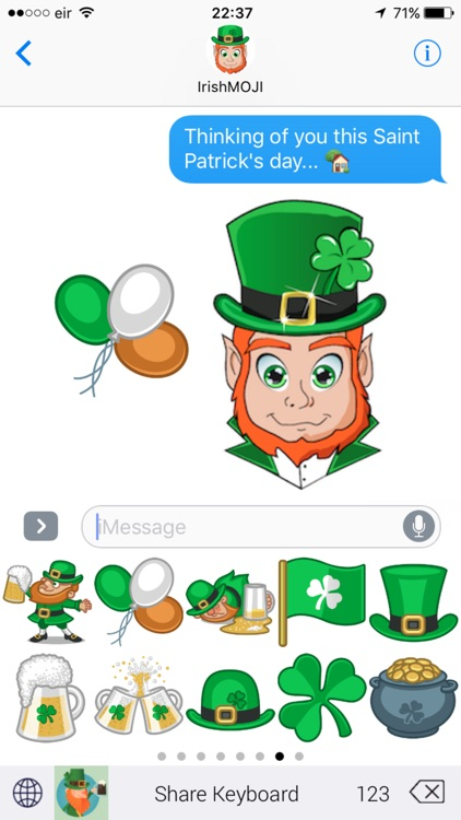 IrishMoji Magic