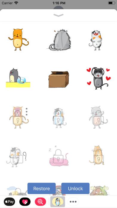 Screen Shot Funny Neko Cat Animated 2