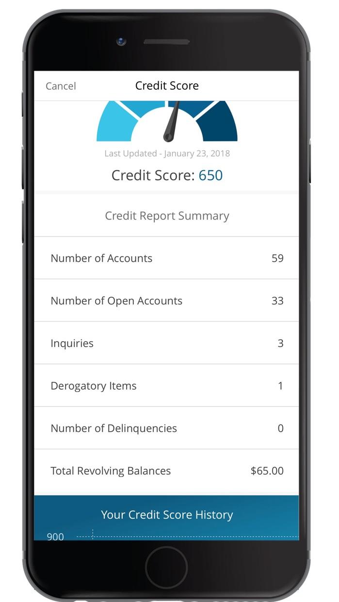 Credit One Bank Mobile Screenshot