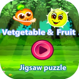 Jigsaw Puzzle Funny-Fruit and vegetable