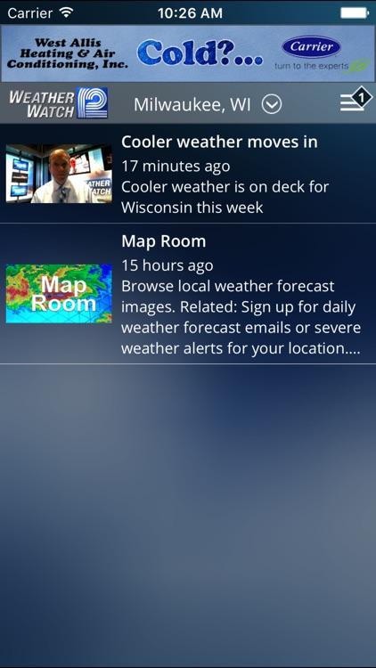 WISN WeatherWatch 12 screenshot-3