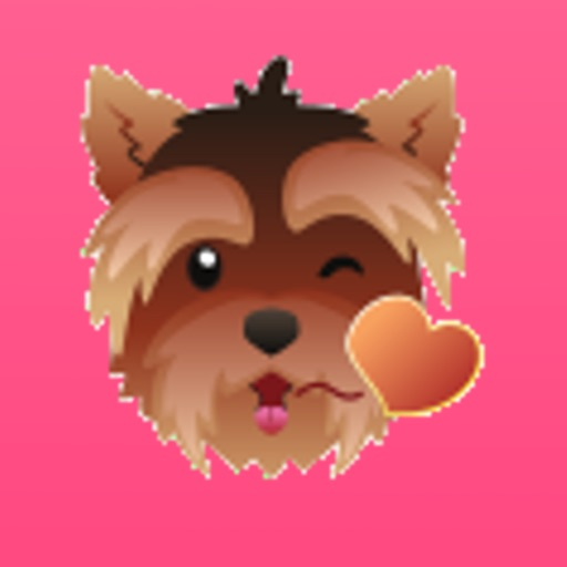 YorkieMojis - Emojis for Yorkie Lovers