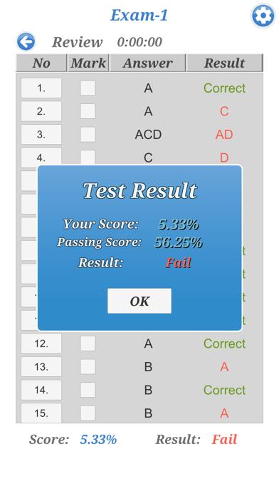Cisco CCNA 210-260 Exam screenshot four