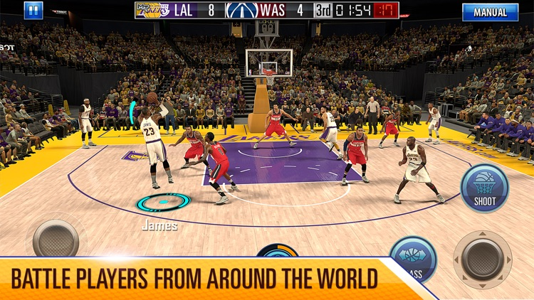 NBA 2K Mobile Basketball screenshot-0