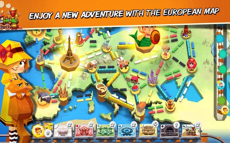 Ticket to Ride: First Journey screenshot 3