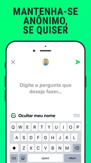 113566bc6a2d0 F3 - Perguntas anônimas, Chat na App Store