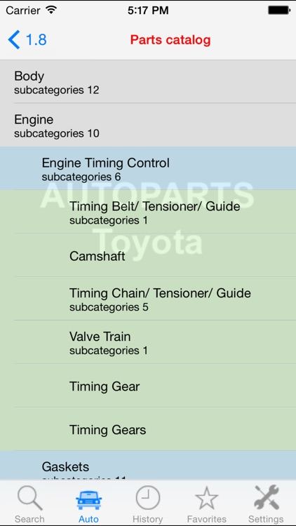 Autoparts for Toyota screenshot-4