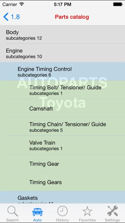 Autoparts for Toyota screenshot-4