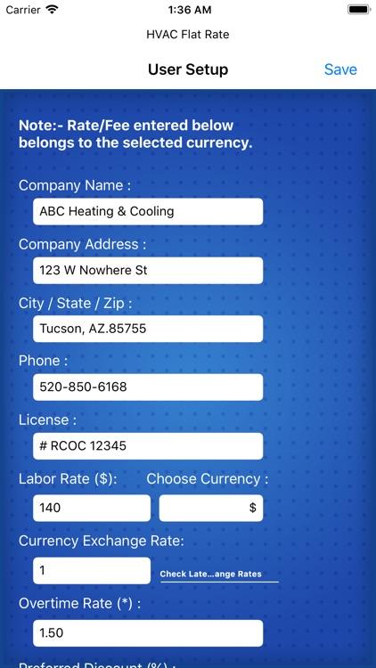 EC HVAC Flat Rate Pro
