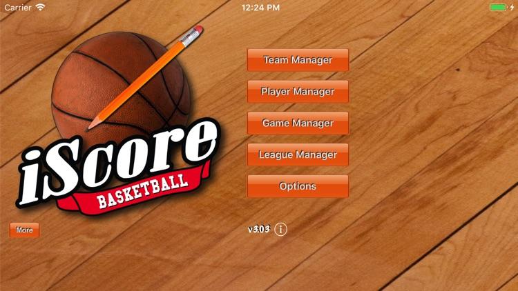 iScore Basketball Scorekeeper screenshot-3