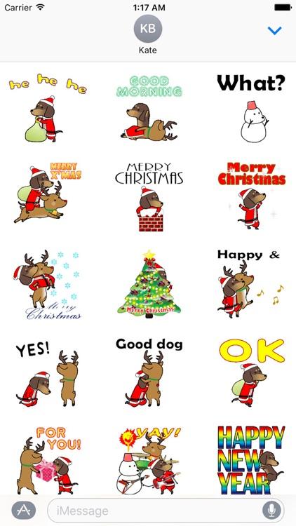 Funny Dog On Christmas Holiday