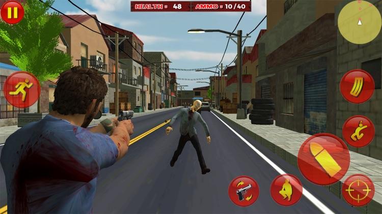 Zombie Survival War Hero screenshot-5
