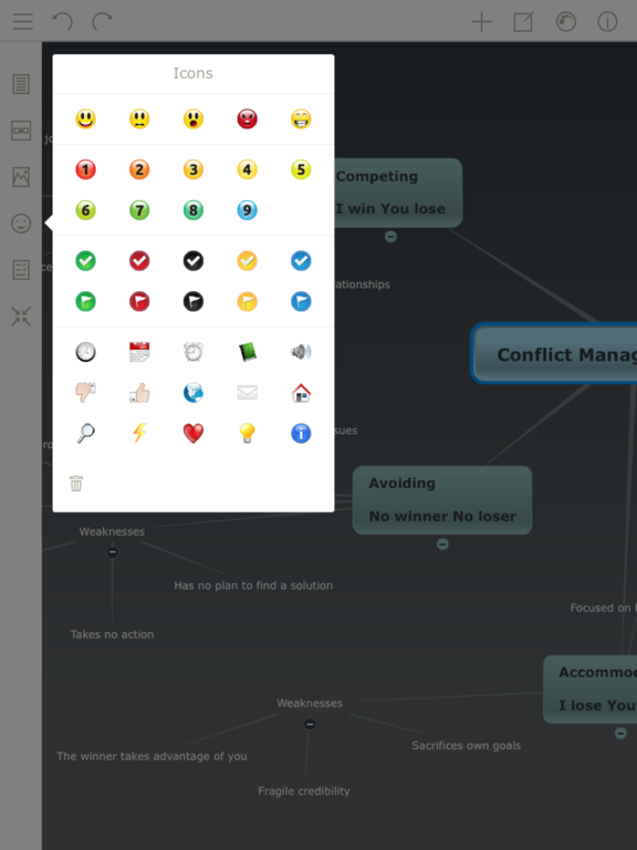 Mindomo (mind mapping) Screenshot 1