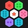六角碎片合成 - 比较简单的消除游戏