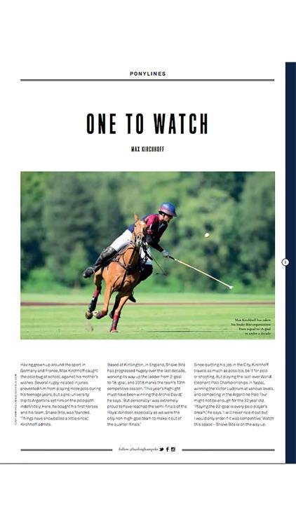 Hurlingham Polo magazine screenshot-3