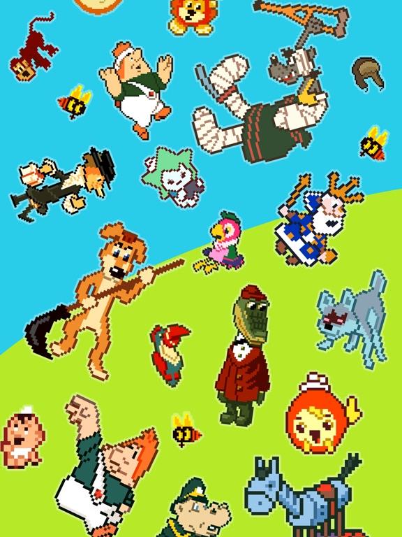 Скачать Пиксельные истории: Раскраска