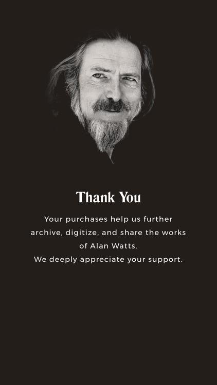 Alan Watts Meditative Series screenshot-3