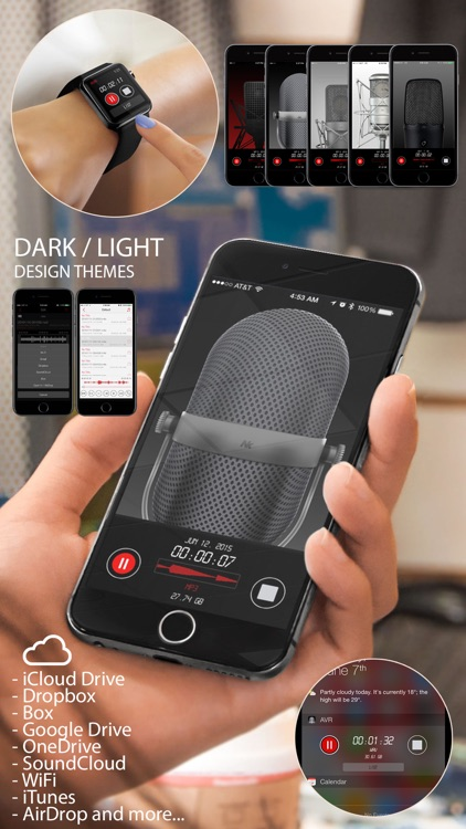 Awesome Voice Recorder for Mp3 Audio Recording