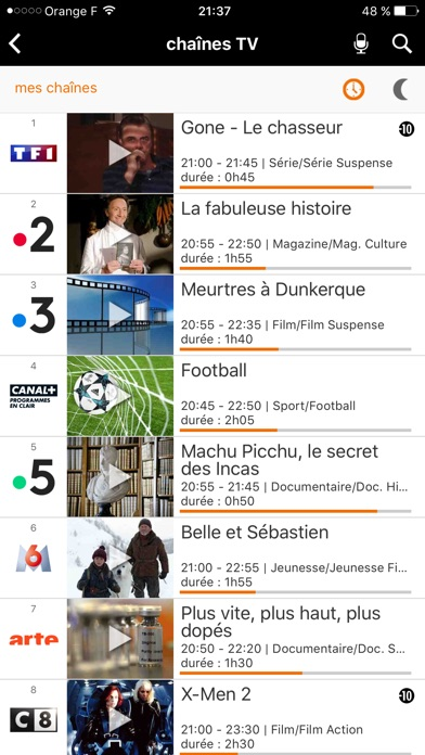 download TV d'Orange apps 1