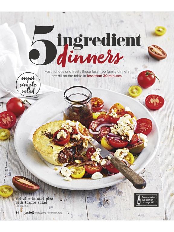 Taste.com.au Magazine-ipad-3