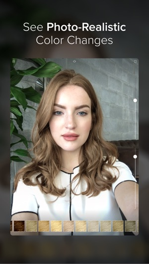 see yourself with different hair styles hair color on the app 2843 | 300x0w