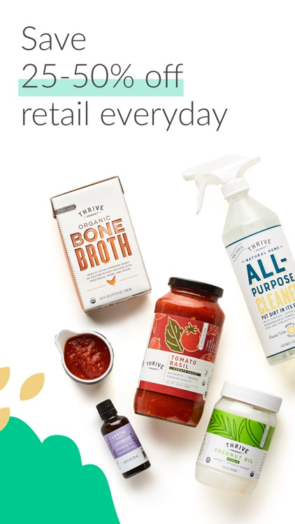 Thrive Market - shop healthy