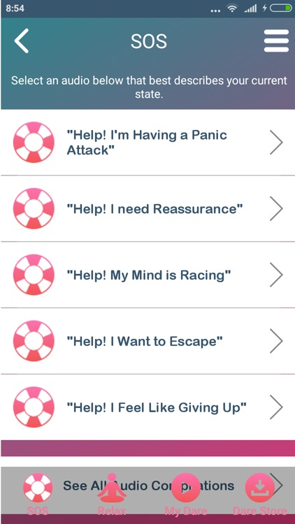DARE - Break Free From Anxiety screenshot-3