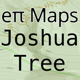 Offline Joshua Tree Map