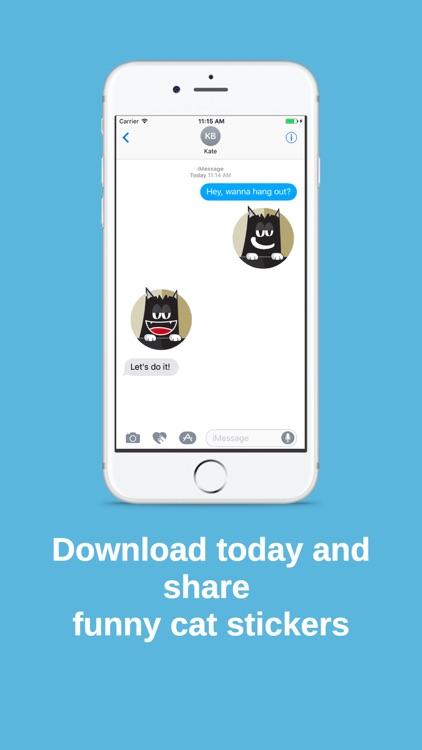 Banjo The Cat Sticker Pack screenshot-4
