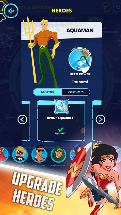 Justice League Action Run screenshot-3