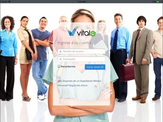 iPad Image of Vitale