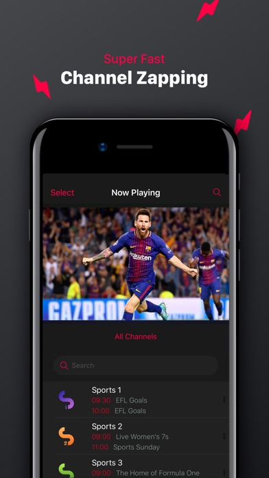 Screenshot for IPTV Pro - M3U Player in Portugal App Store