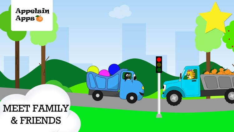 Baby Truck - Car Kids Game 2-5