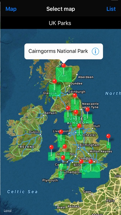 Map Of Uk Forests.Uk Parks Forests Gps Os Maps By Flytomap